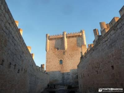 Ribera del Duero,visita enológica-Peñafiel; asociaciones senderismo madrid club de senderismo taxu
